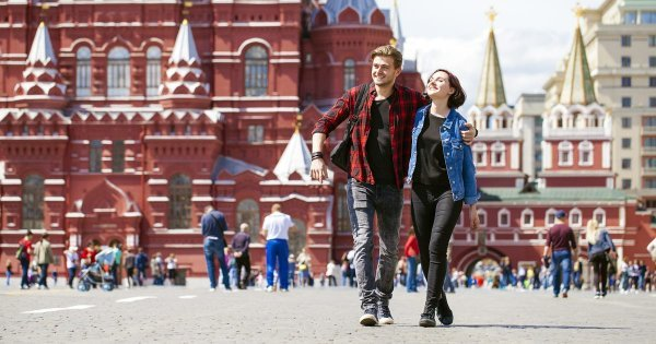 Paint the Town Red in Red Square on a Private Tour of Russia