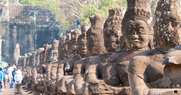 Take a Guided Tour and Explore the Magical, Charming  Angkor Wat