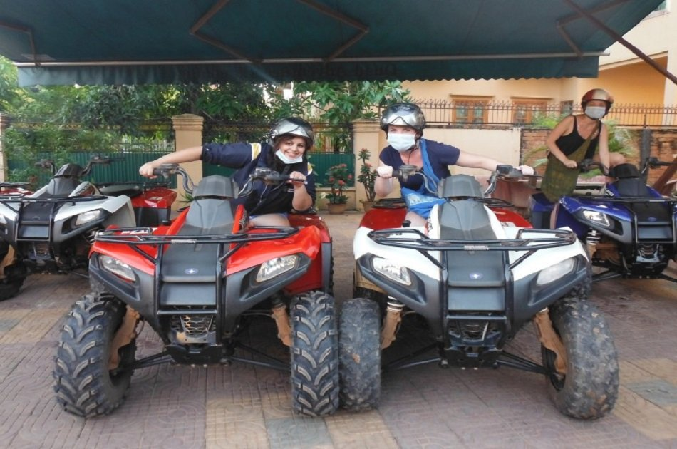 Full Day in Siem Reap With Quadbike