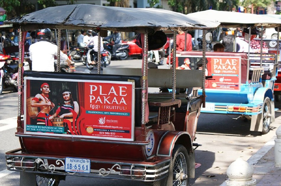 Plae Pakaa Arts Performances in Phnom Penh