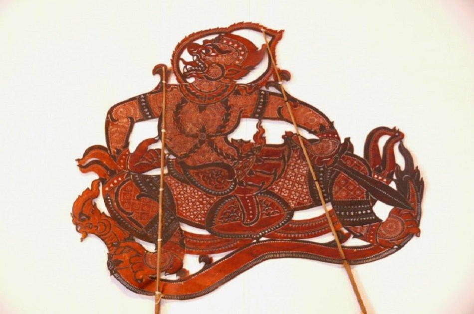 Sovannaphum Shadow Art Performance