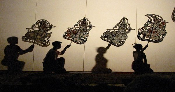 Sovannaphum Shadow Art Performance