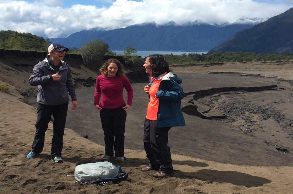 Volcan Osorno Desolacion Hike with Petrohue Falls on a Private Tour