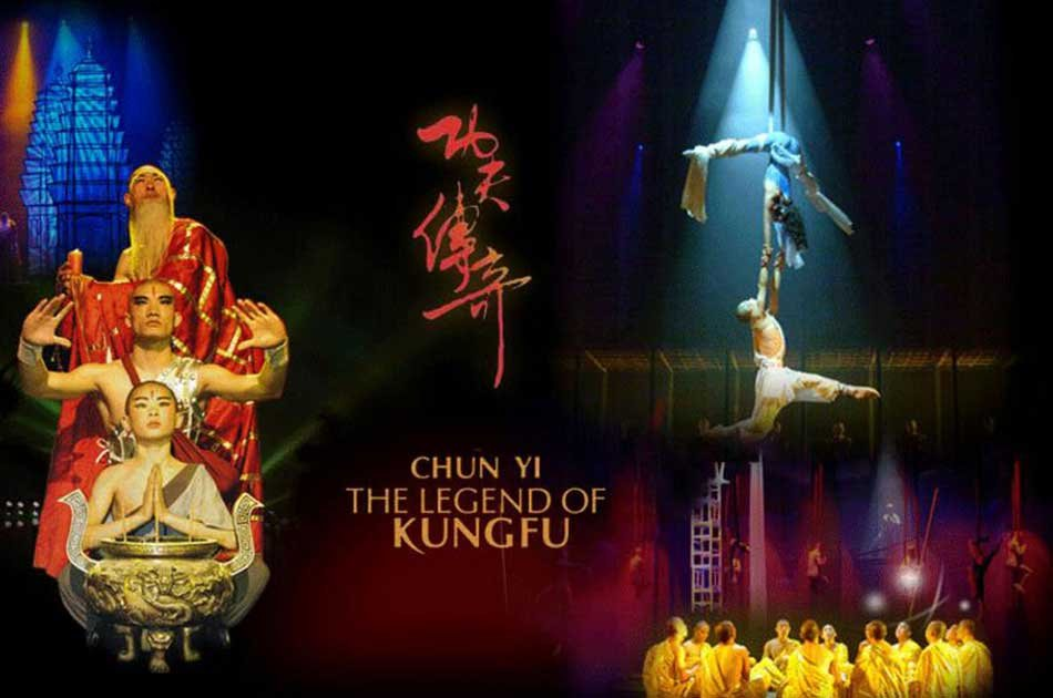 Beijing Night Kung Fu Show at Red Theater