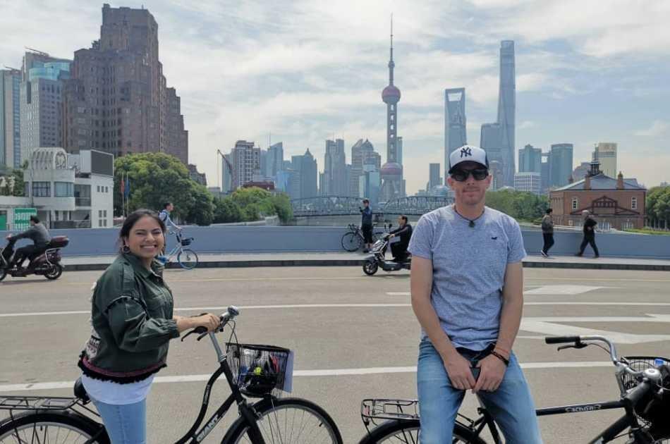 Full Day Taste Shanghai Bike Tour