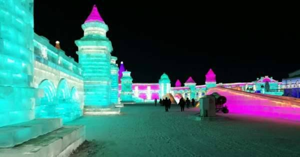 Harbin Ice Festival After Dark Private Tour