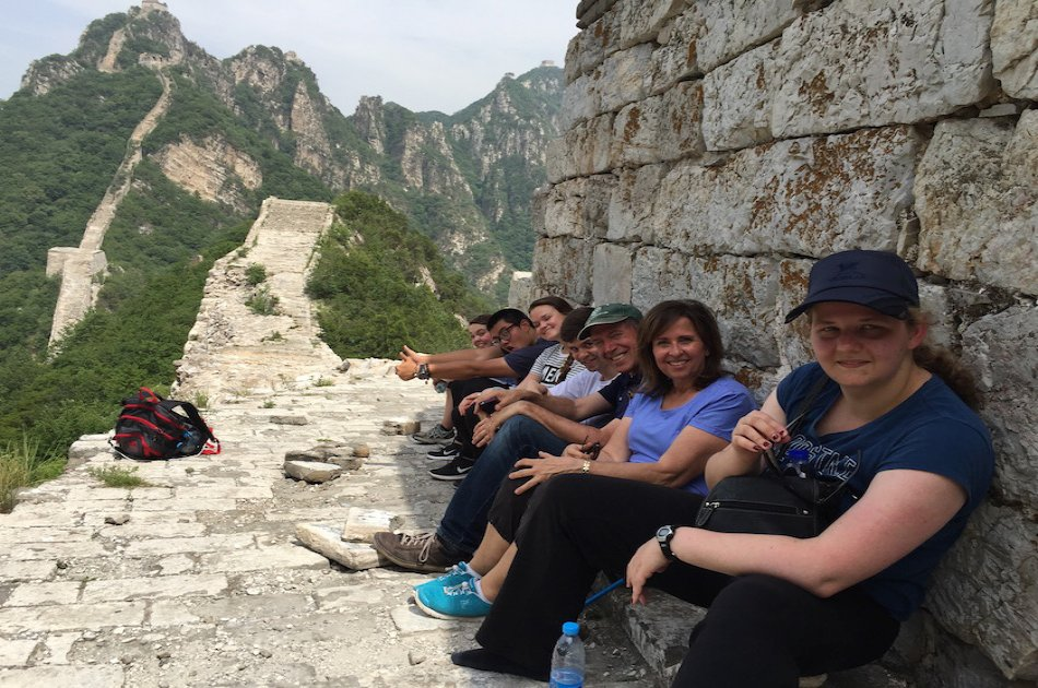 Jiankou Great Wall of China Full- Day Private Hiking Tour