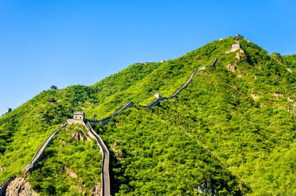 Panoramic View of the Badaling Great Wall by Helicopter Private Tour