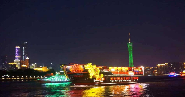 Pearl River Night Cruise Tour in Guangzhou