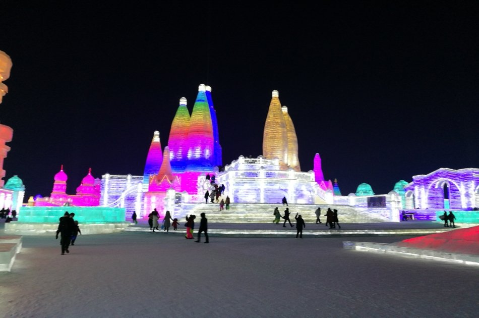 Private Harbin Day Tour to Ice and Snow Sculpture Festival