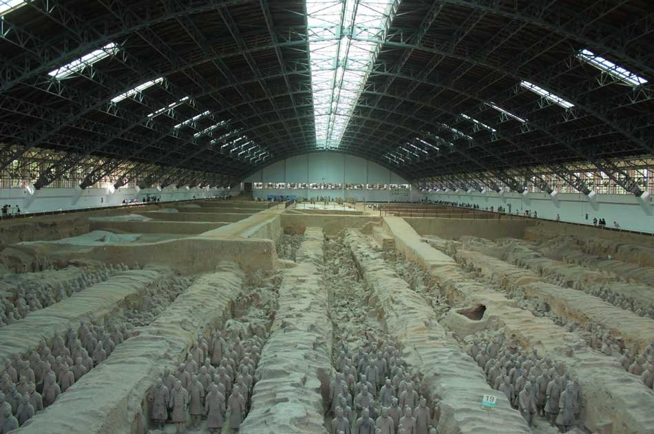 Qin Dynasty Discovery With Clay Warrior Making Private Experience