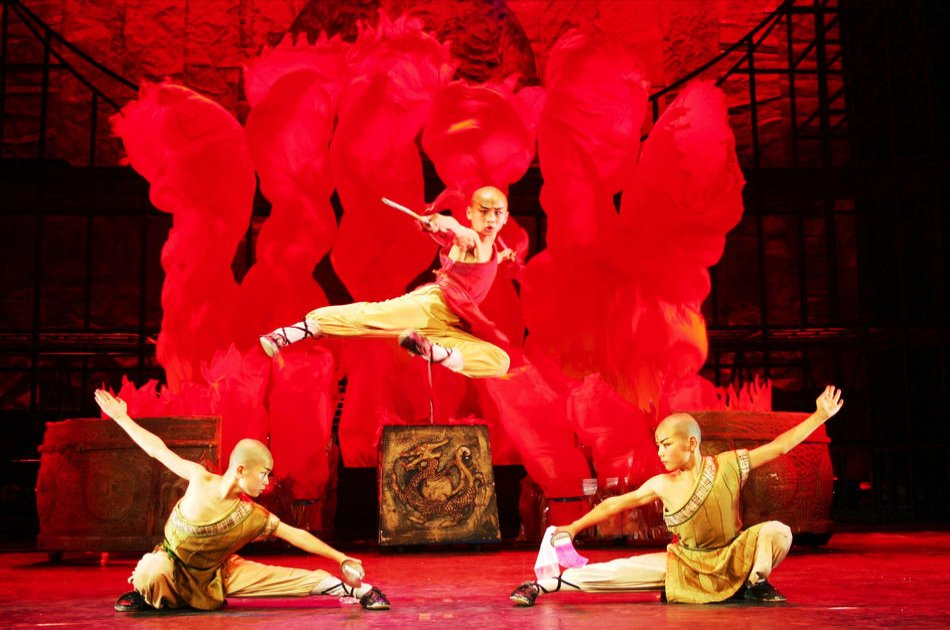Shaolin Kungfu Show Tickets at Beijing Red Theatre