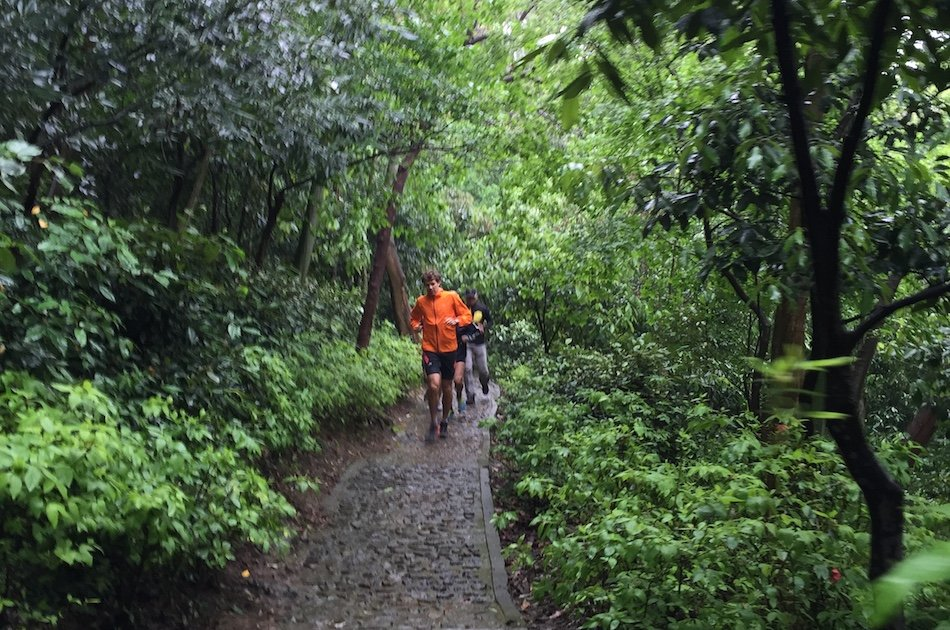 The Forest/Bamboo Mountain Trail Run in Shanghai