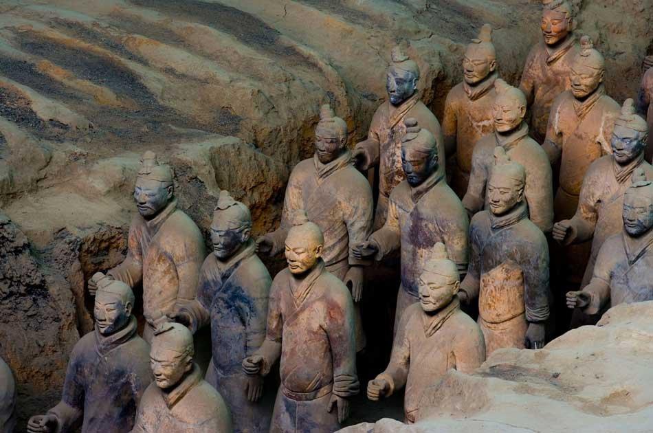Xian Group Tour of Banpo Museum, Huaqing Hot Spring and Terracotta Warriors