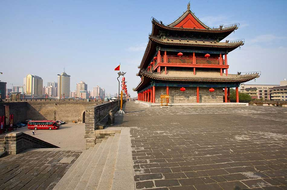 Xian Layover Tour of City Overview