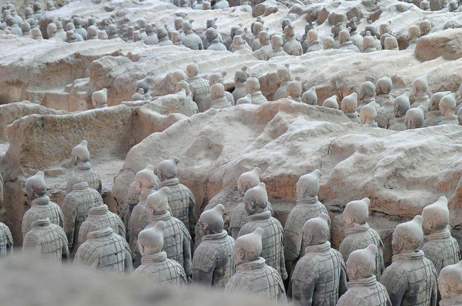 Xian Terracotta Warriors of Qin Shi Huang Mausoleum Group Tour