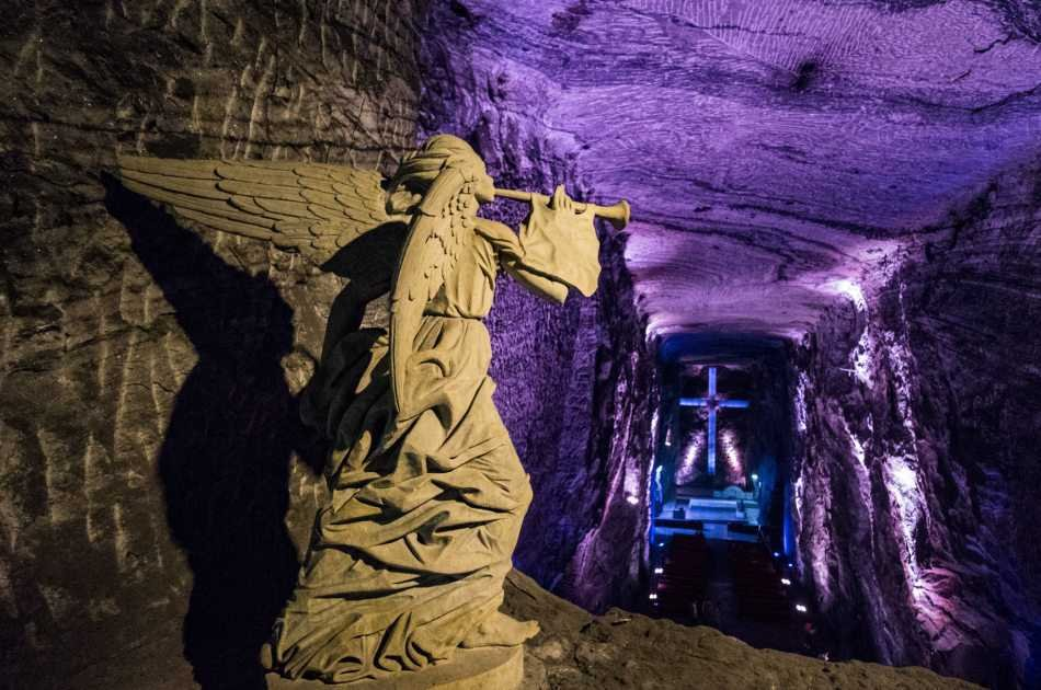 Private tour of Salt Cathedral in Zipaquira