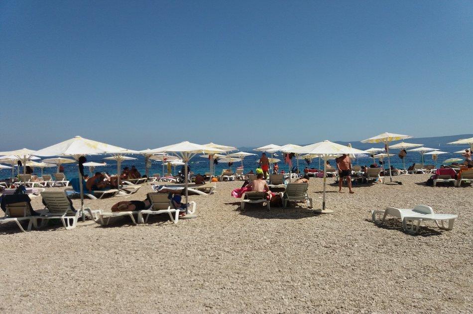 All inclusive Day Trip to Island Brač - Golden Horn Beach