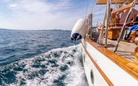 Full Day Private Motorsailer Yacht Cruise from Zadar