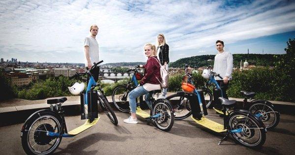1.5-Hour E-Scooter Panoramic Tour