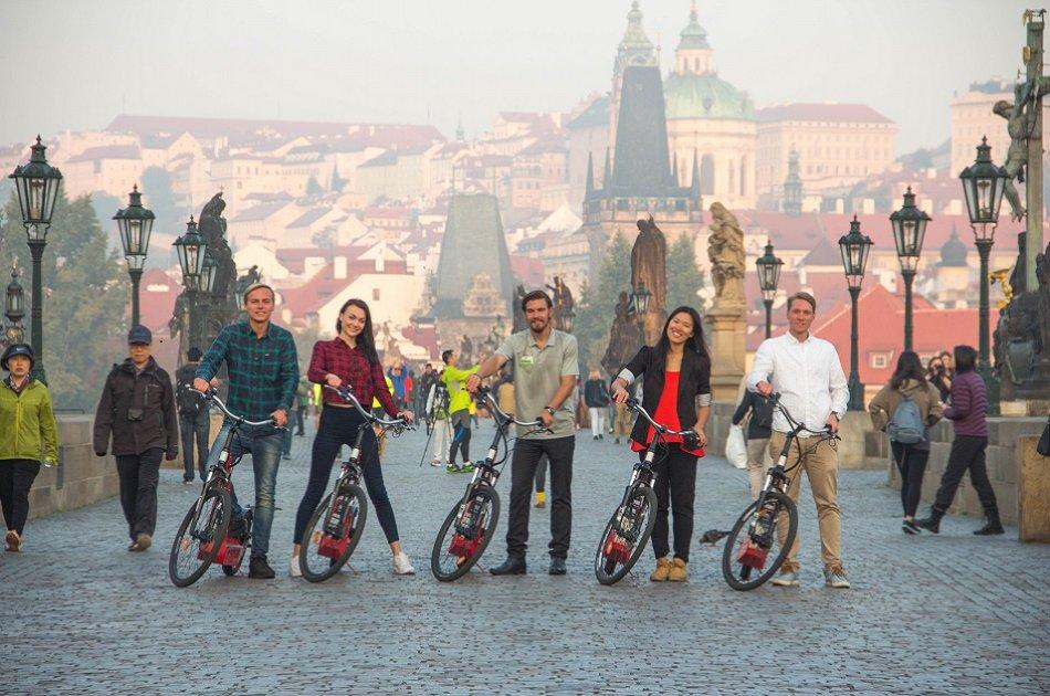 3,5 Hour Grand City Tour of Prague on E-scooter and Segway