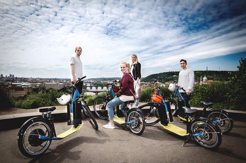 3-Hour E-Scooter Grand City Tour