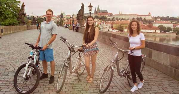 3 Hour Prague Viewpoints E-bike Private Tour