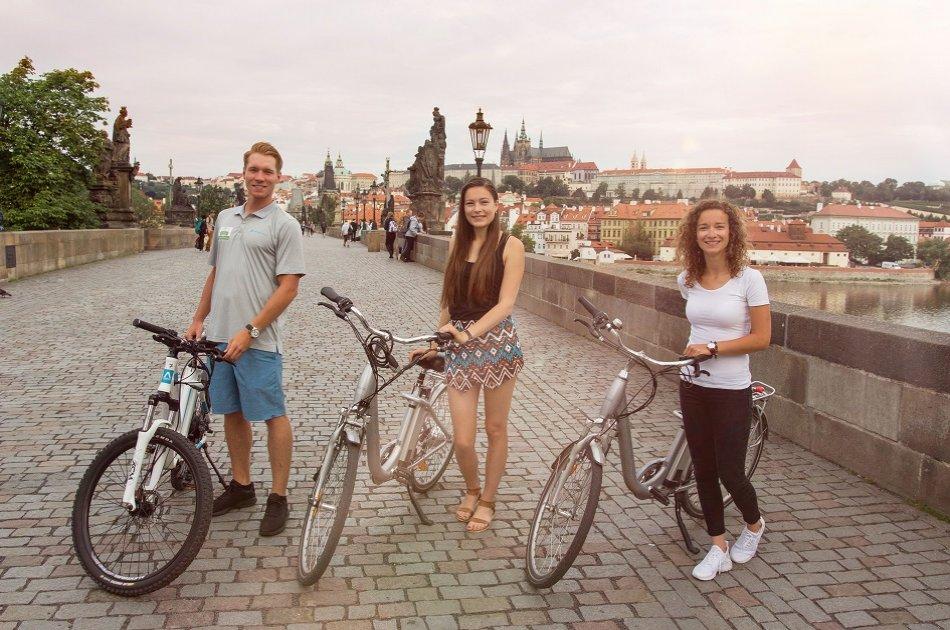 3 Hour Prague Viewpoints E-bike Private Tour