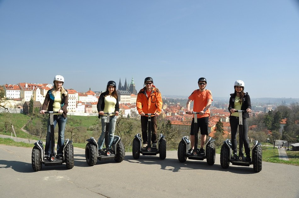 3 Hours Private Prague Relaxing Segway Tour
