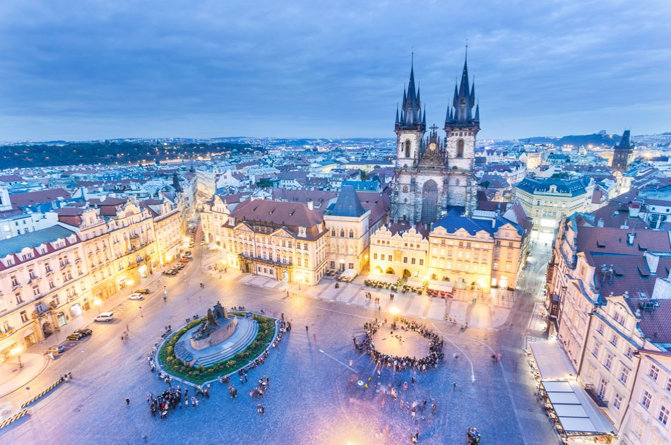 4 Hour Prague Tour with Private Car