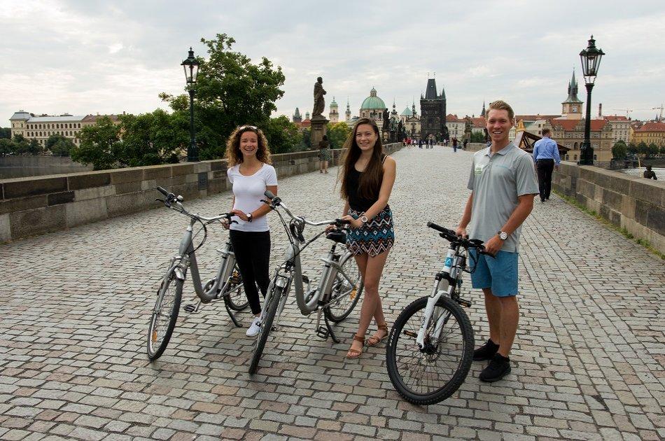 90 Minutes E-Bike Castle Tour in Prague