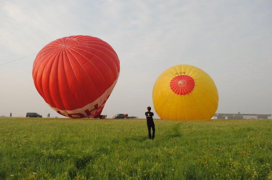 Hot Air Balloon Rides From Prague
