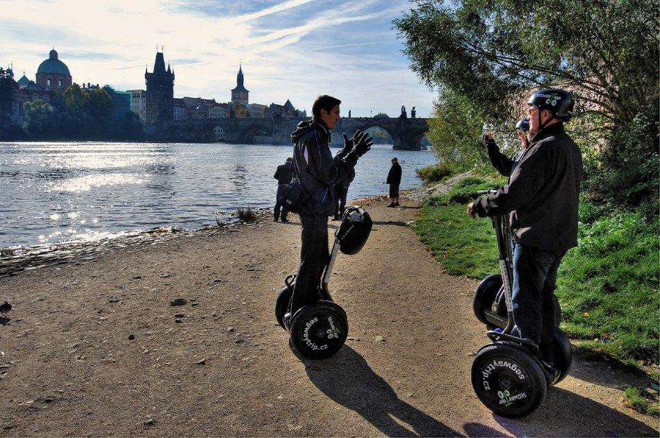 Prague All incl Combi City Tour on Segway and E-scooter HUGO Bike