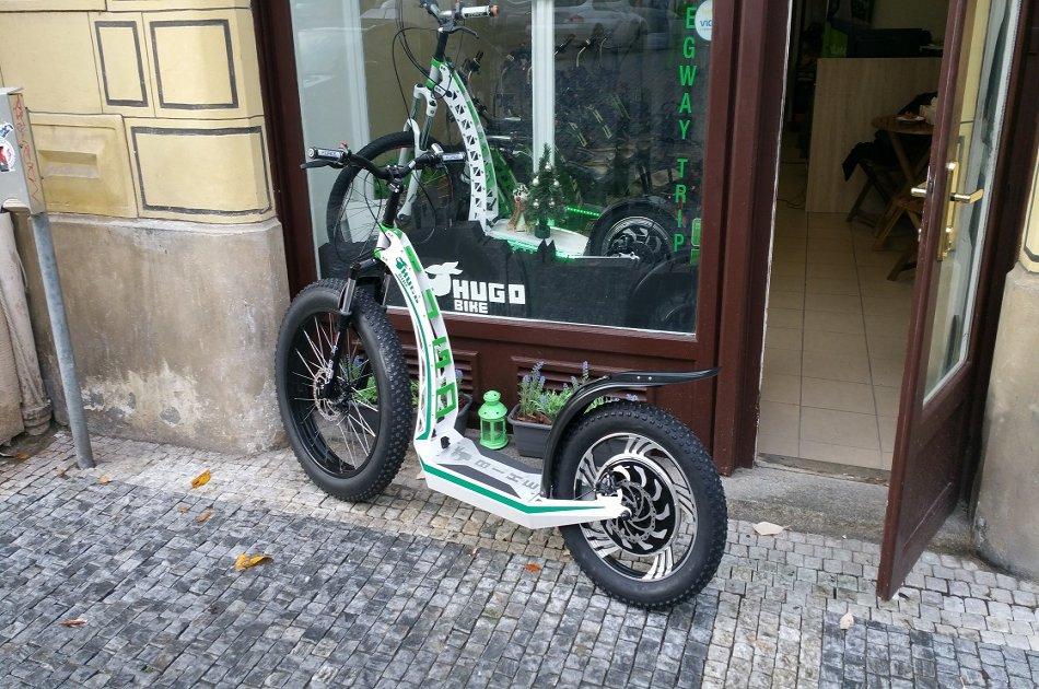 Prague on E-scooter HUGO Bike Grand City Tour - including Guide