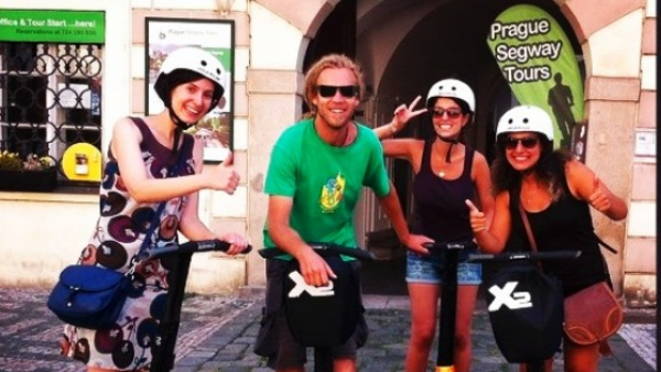 Three Hour Segway Private Prague Tour
