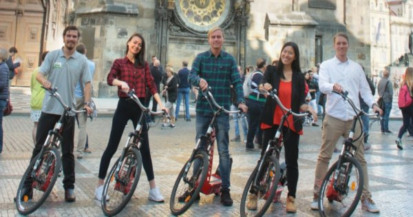Private Prague Sightseeing Tour On Electric Scooters