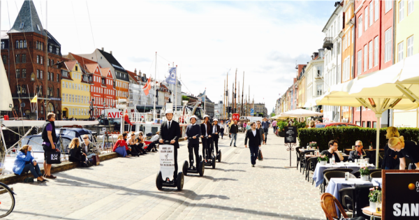 1 Hour Copenhagen Segway City Center Cruise
