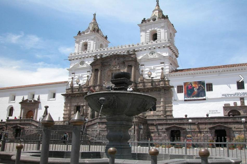 1914 Original Trolley City of Quito & Middle of the World Monument