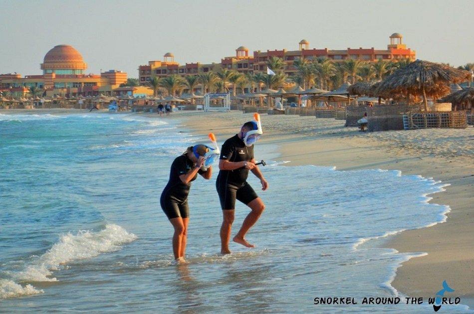 Day Trip Snorkeling At Port Ghalib Marina from Marsa Alam