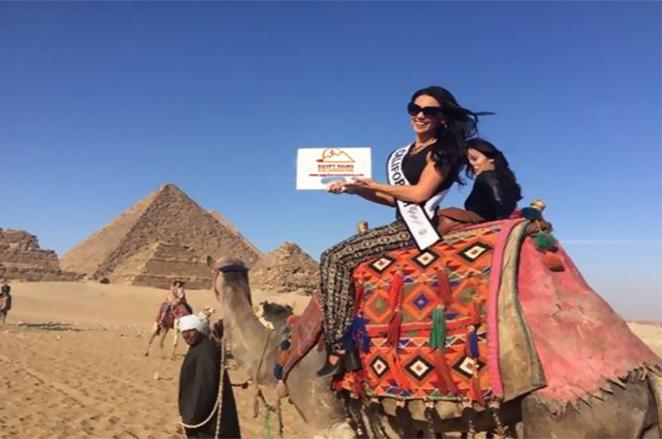 Giza Pyramids, Memphis, Sakkara Tour with lunch and Camel Ride Between Pyramids