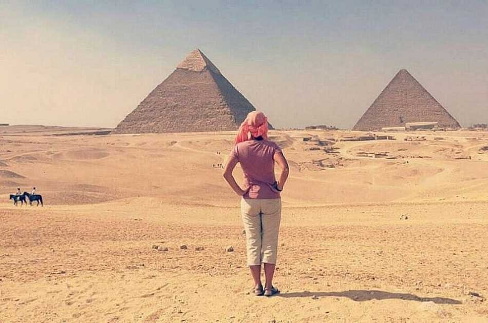 Great Pyramids & Sphinx, Saqqara Step Pyramids and Dahshour From Cairo