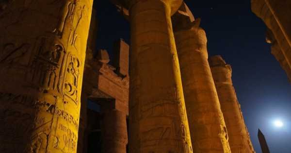 Karnak Sound & Light Show From Luxor
