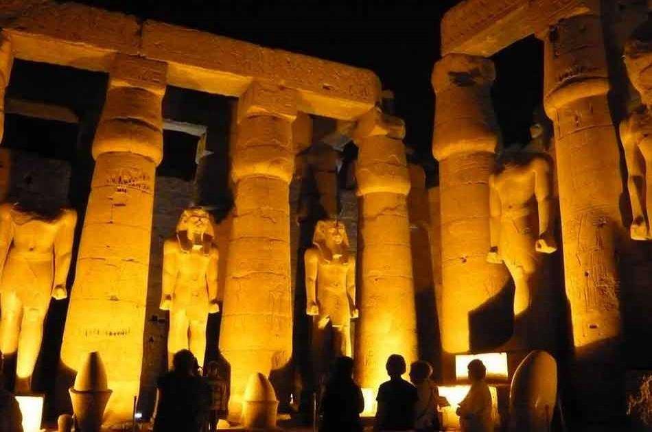 Karnak Sound & Light Show From Luxor