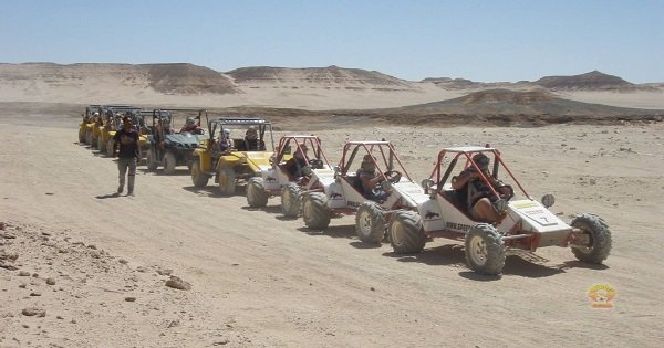 Morning Car Buggy Safari Hurghada