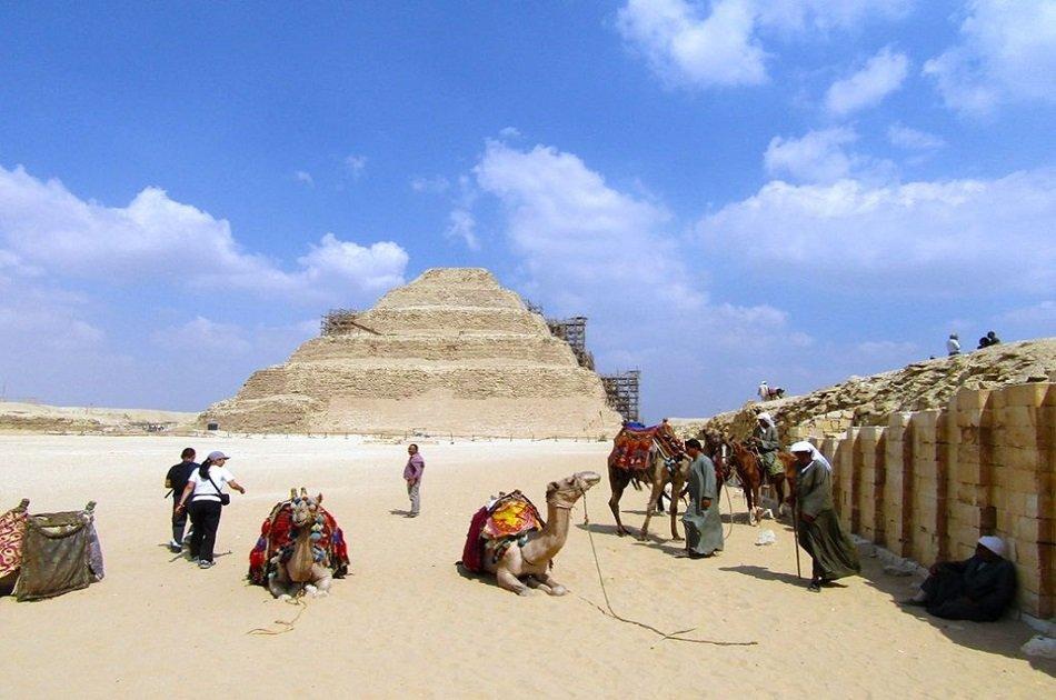 Private Full Day Great Pyramids, Sakkara Pyramids & Memphis Tour