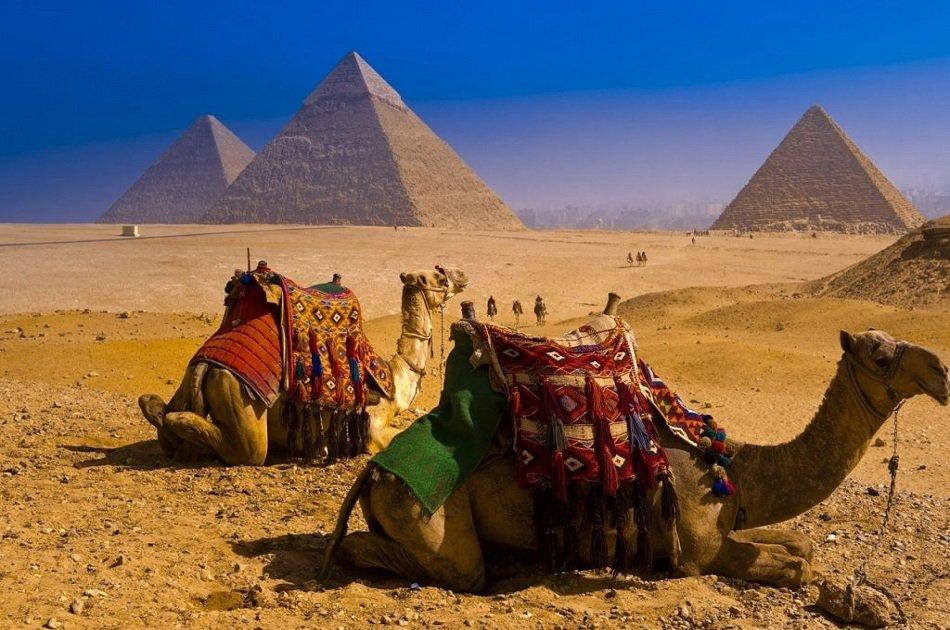 Private Quad Bike and Camel Ride Safari on a Desert Sunrise Tour
