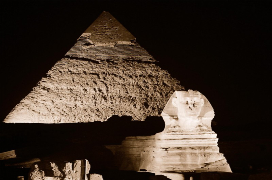 Pyramids Sound and Light Show in Cairo