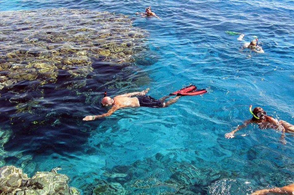 Snorkeling at Giftun Island in Hurghada
