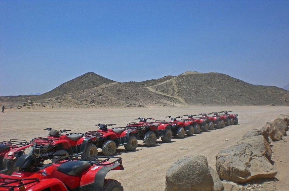 Sunset Safari trip by Quad Bike Hurghada