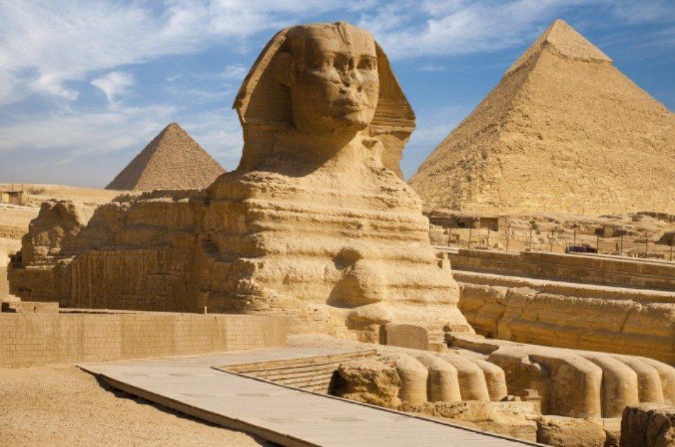 The Pyramids of Giza, Sakkara Complex and Memphis Open-Air Museum Tour